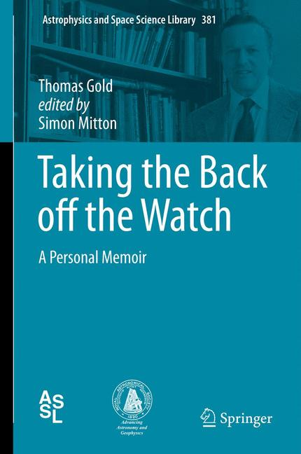 Cover of 'Taking the Back off the Watch'
