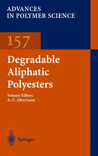 Cover of 'Degradable Aliphatic Polyesters'