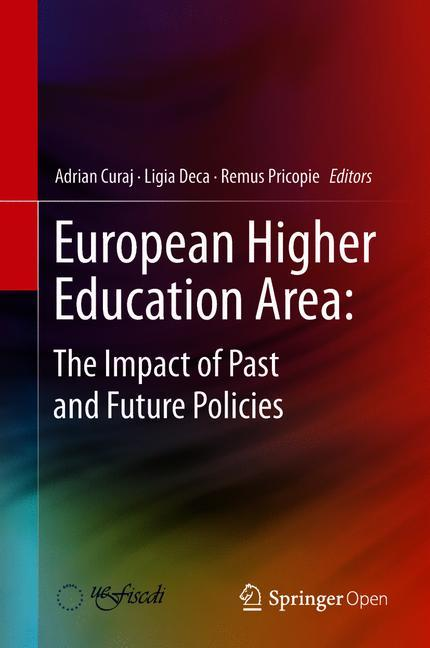 Cover of 'European Higher Education Area: The Impact of Past and Future Policies'