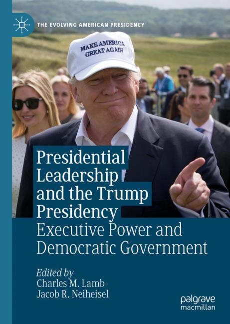 Cover of 'Presidential Leadership and the Trump Presidency'