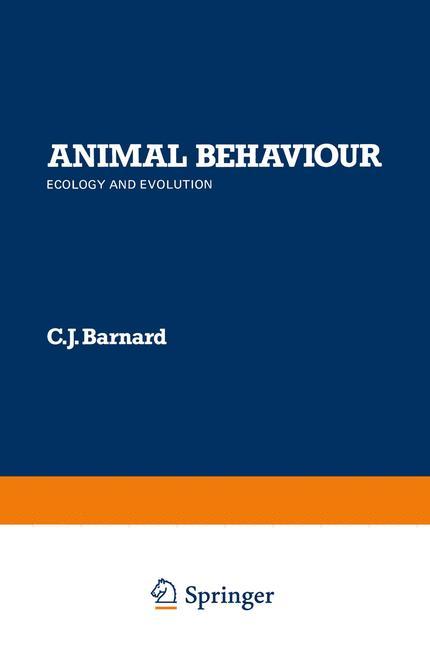 Cover of 'Animal Behaviour'