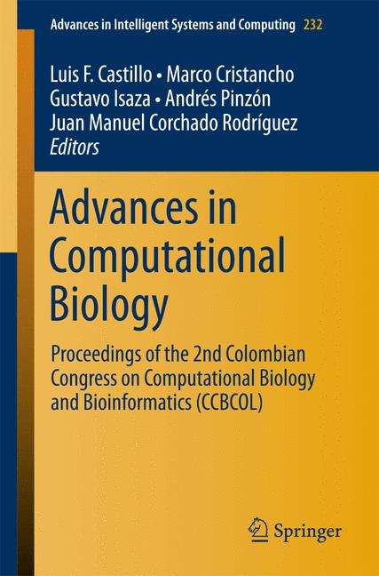 Cover of 'Advances in Computational Biology'