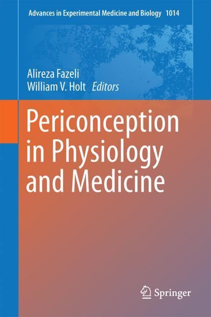 Cover of 'Periconception in Physiology and Medicine'