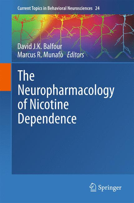 Cover of 'The Neuropharmacology of Nicotine Dependence'
