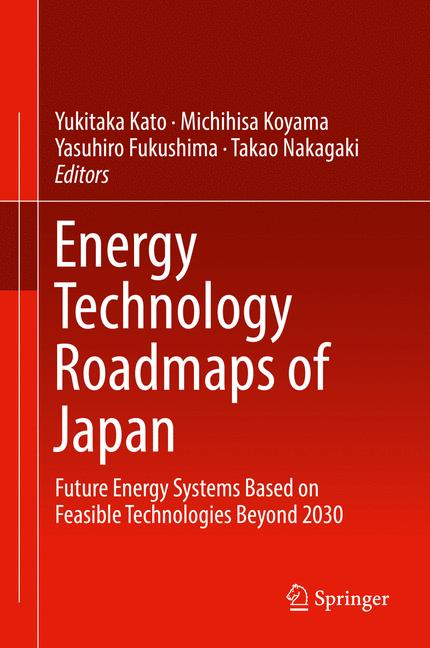 Cover of 'Energy Technology Roadmaps of Japan'