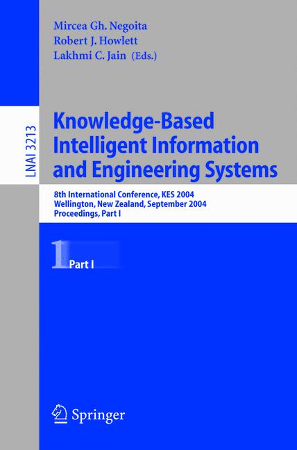 Cover of 'Knowledge-Based Intelligent Information and Engineering Systems 1'