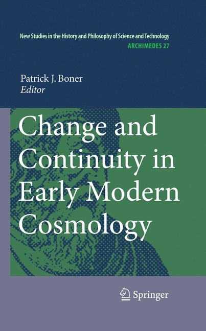 Cover of 'Change and Continuity in Early Modern Cosmology'