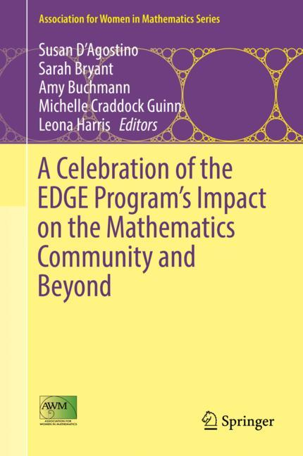 Cover of 'A Celebration of the EDGE Program's Impact on the Mathematics Community and Beyond'