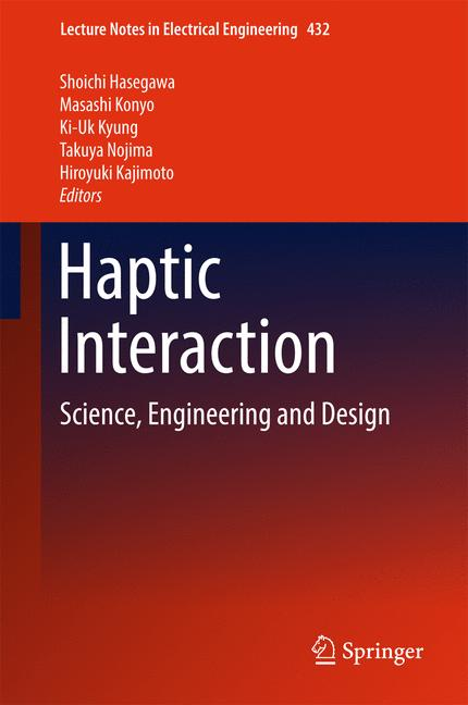 Cover of 'Haptic Interaction'