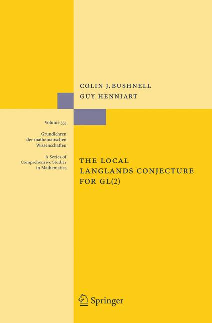 Cover of 'The Local Langlands Conjecture for GL(2)'