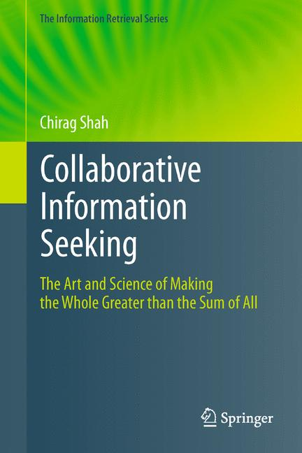 Cover of 'Collaborative Information Seeking'
