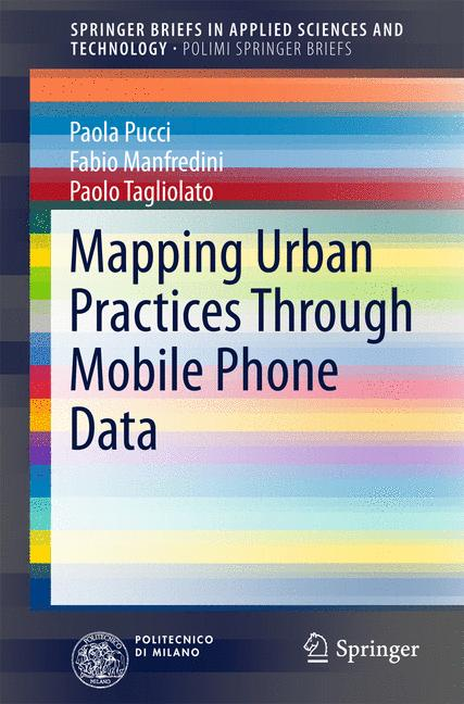 Cover of 'Mapping Urban Practices Through Mobile Phone Data'