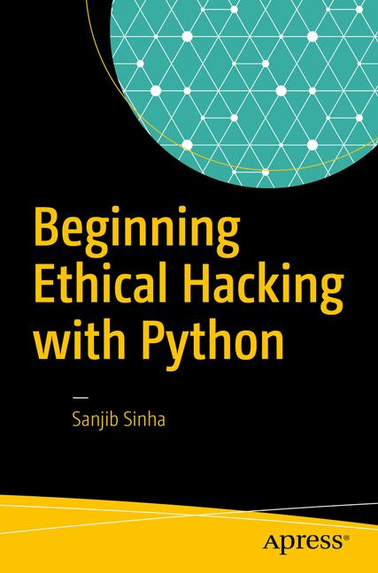 Cover of 'Beginning Ethical Hacking with Python'