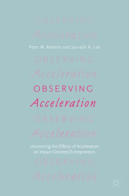Cover of 'Observing Acceleration'