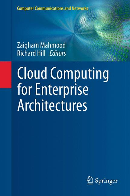 Cover of 'Cloud Computing for Enterprise Architectures'