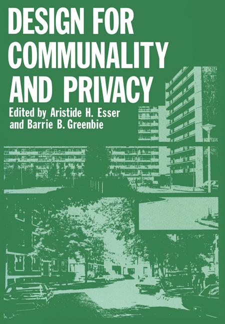 Cover of 'Design for Communality and Privacy'