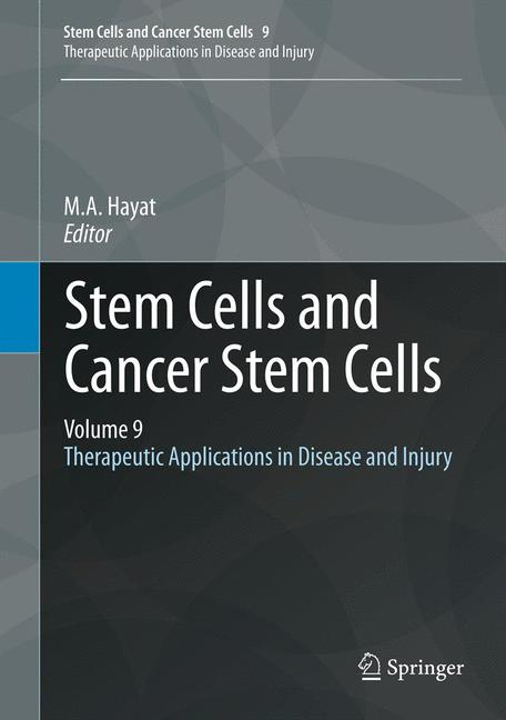Cover of 'Stem Cells and Cancer Stem Cells, Volume 9'