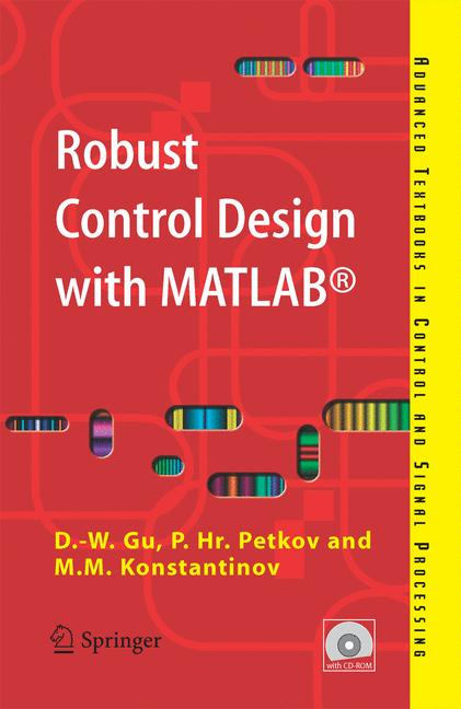 Cover of 'Robust Control Design with MATLAB®'