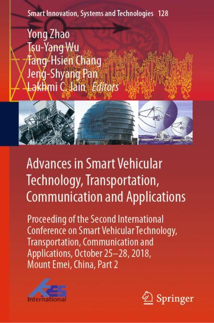 Cover of 'Advances in Smart Vehicular Technology, Transportation, Communication and Applications'