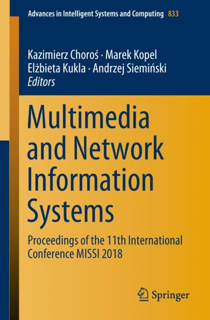 Cover of 'Multimedia and Network Information Systems'