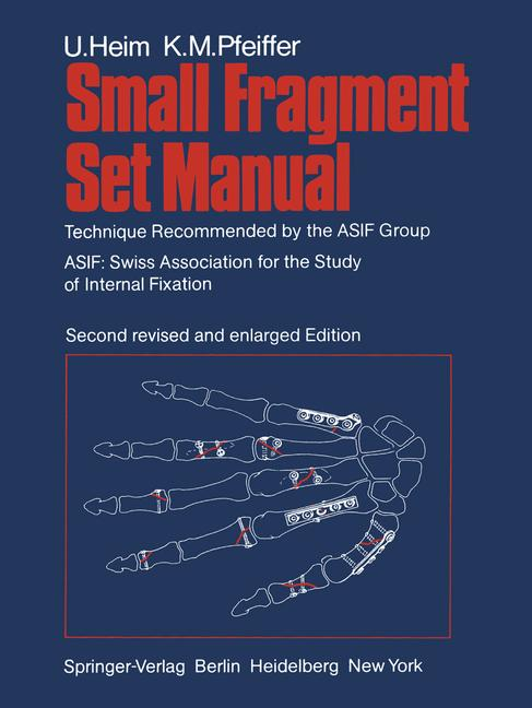 Cover of 'Small Fragment Set Manual'