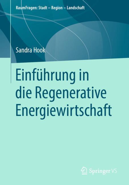 Cover of 'Einführung in die Regenerative Energiewirtschaft'