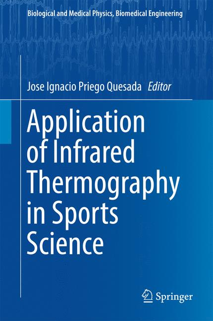 Cover of 'Application of Infrared Thermography in Sports Science'