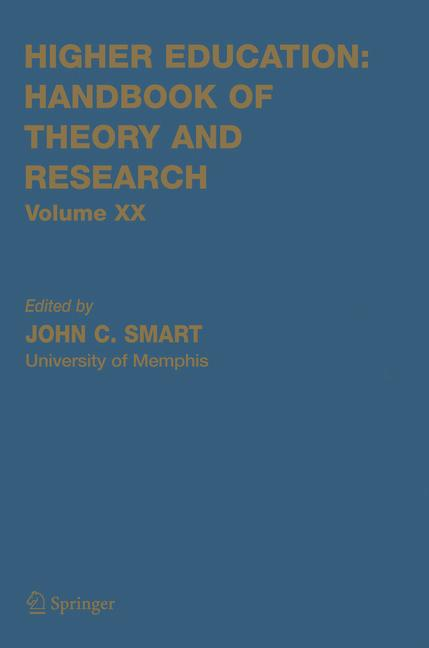 Cover of 'Higher Education: Handbook of Theory and Research'