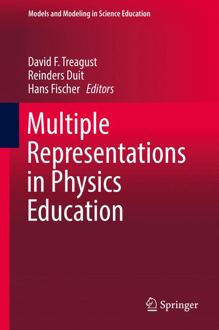 Cover of 'Multiple Representations in Physics Education'