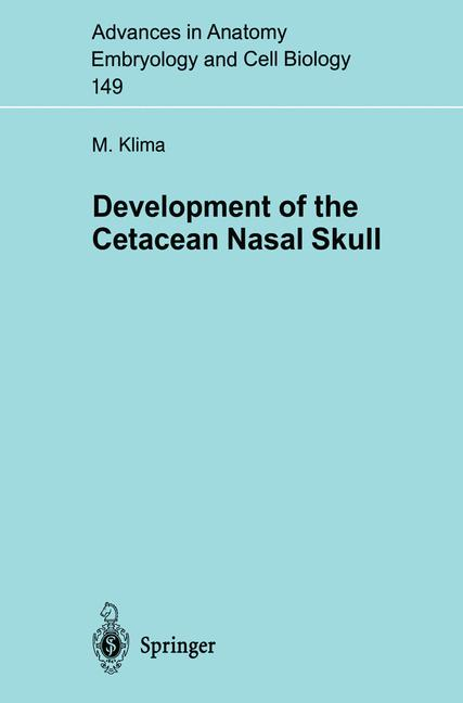 Cover of 'Development of the Cetacean Nasal Skull'