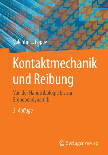 Cover of 'Kontaktmechanik und Reibung'