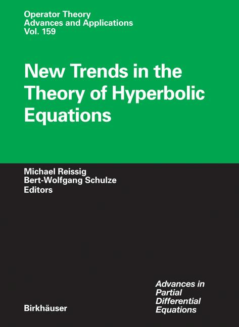 Cover of 'New Trends in the Theory of Hyperbolic Equations'
