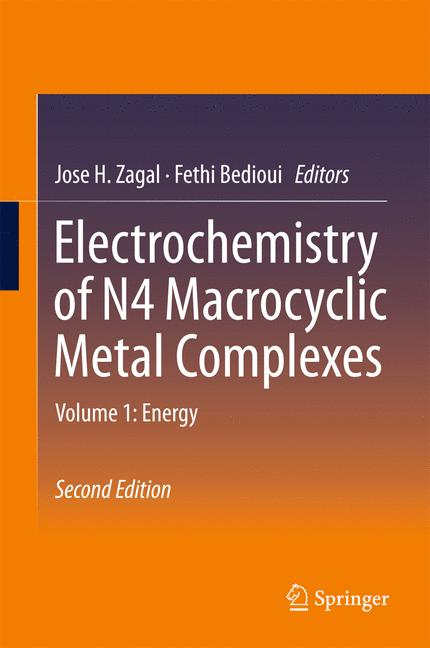 Cover of 'Electrochemistry of N4 Macrocyclic Metal Complexes'