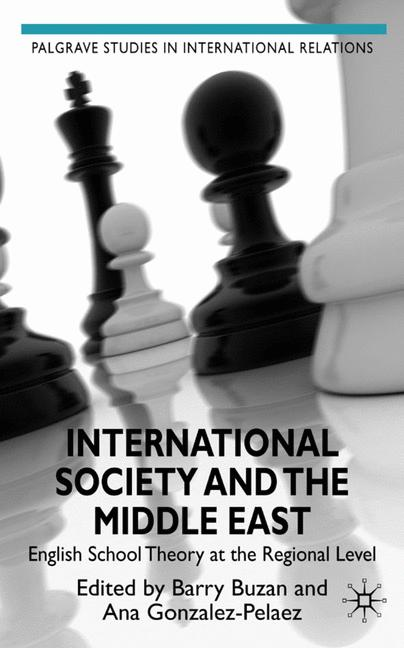 Cover of 'International society and the Middle East'