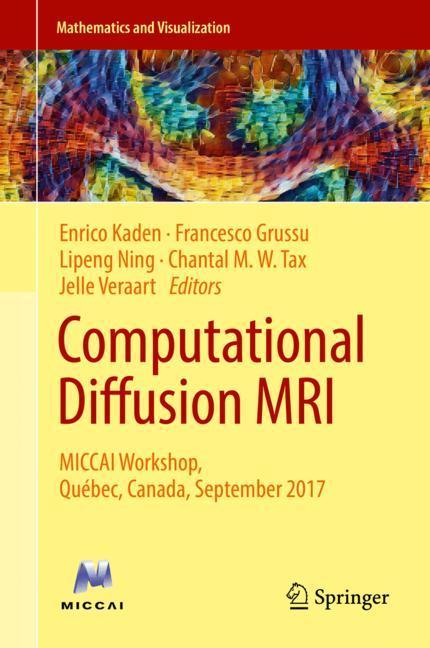 Cover of 'Computational Diffusion MRI'