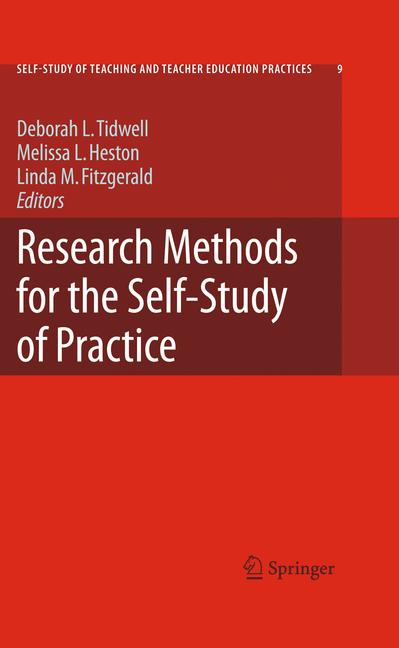 Cover of 'Research Methods for the Self-study of Practice'