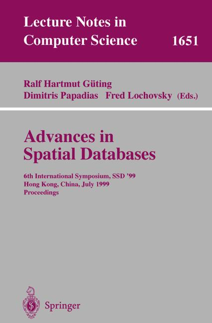 Cover of 'Advances in Spatial Databases'