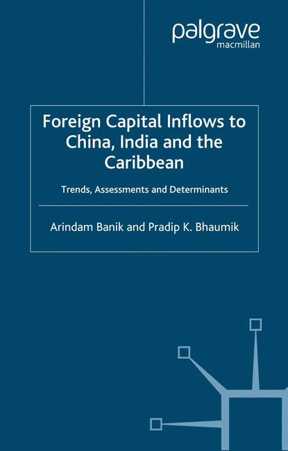 Cover of 'Foreign Capital Inflows to China, India and the Caribbean'