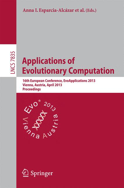 Cover of 'Applications of Evolutionary Computation'