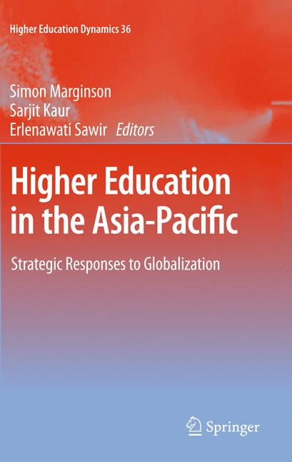 Cover of 'Higher Education in the Asia-Pacific'