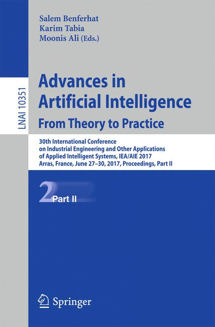 Cover of 'Advances in Artificial Intelligence: From Theory to Practice'