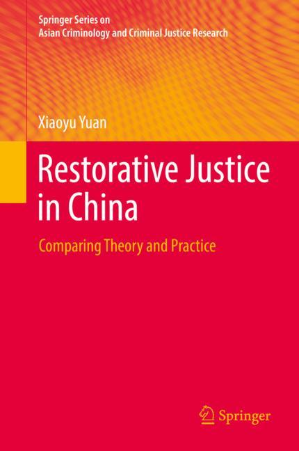 Cover of 'Restorative Justice in China'