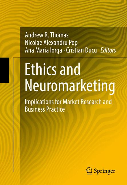 Cover of 'Ethics and Neuromarketing'