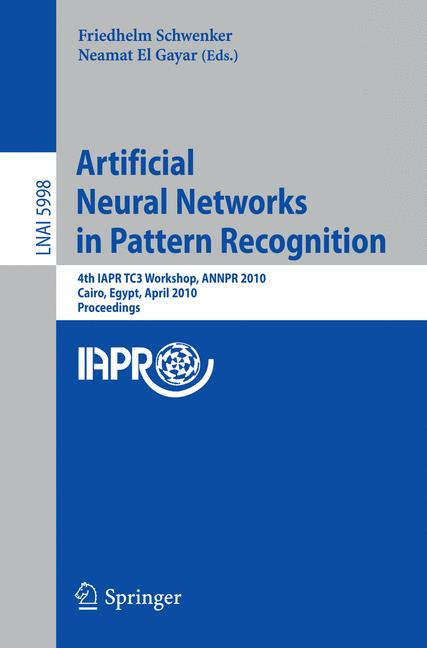 Cover of 'Artificial Neural Networks in Pattern Recognition'