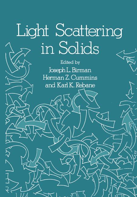 Cover of 'Light Scattering in Solids'
