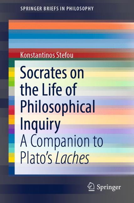 Cover of 'Socrates on the Life of Philosophical Inquiry'