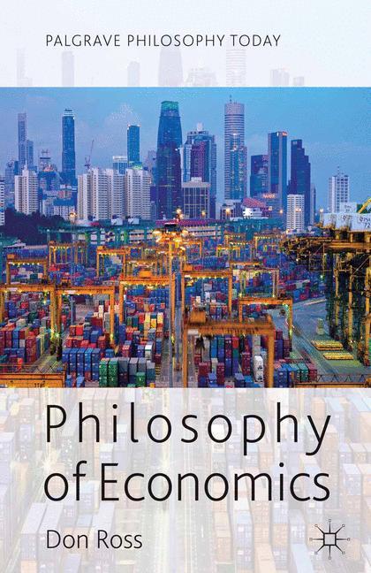 Cover of 'Philosophy of economics'
