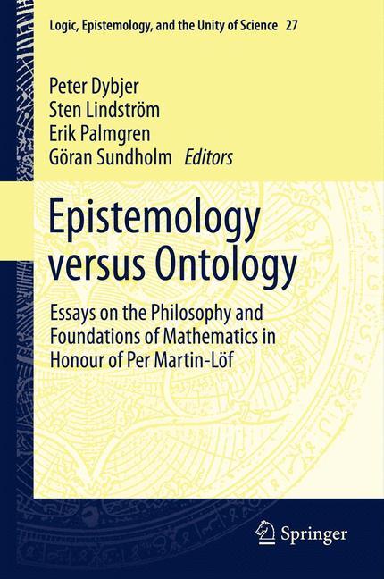 Cover of 'Epistemology versus Ontology'