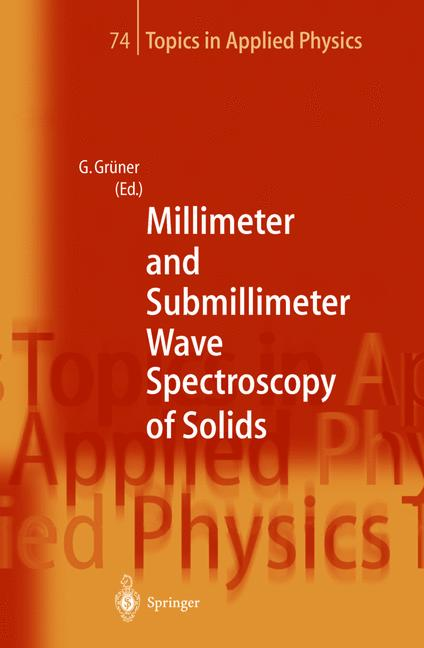 Cover of 'Millimeter and Submillimeter Wave Spectroscopy of Solids'