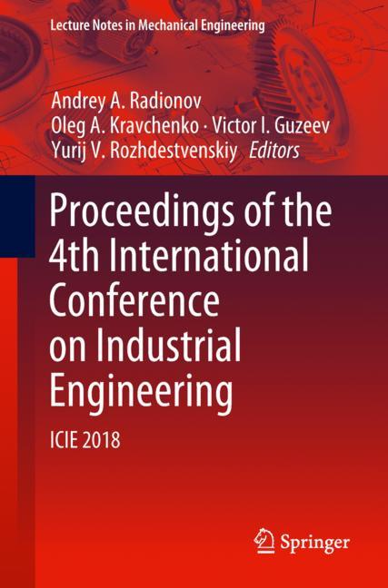 Cover of 'Proceedings of the 4th International Conference on Industrial Engineering'